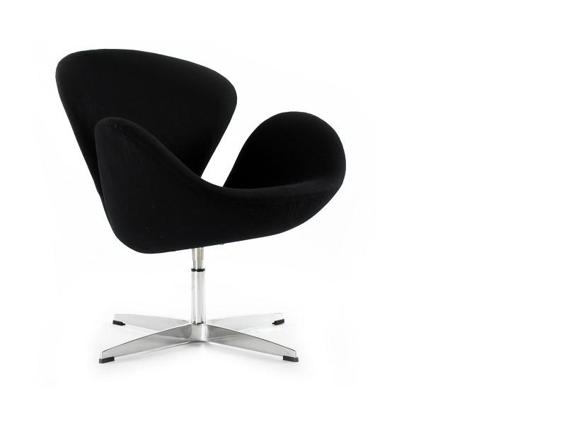 Bild von Stuhl-Design Swan Sessel Arne COSYSEN - Schwarz