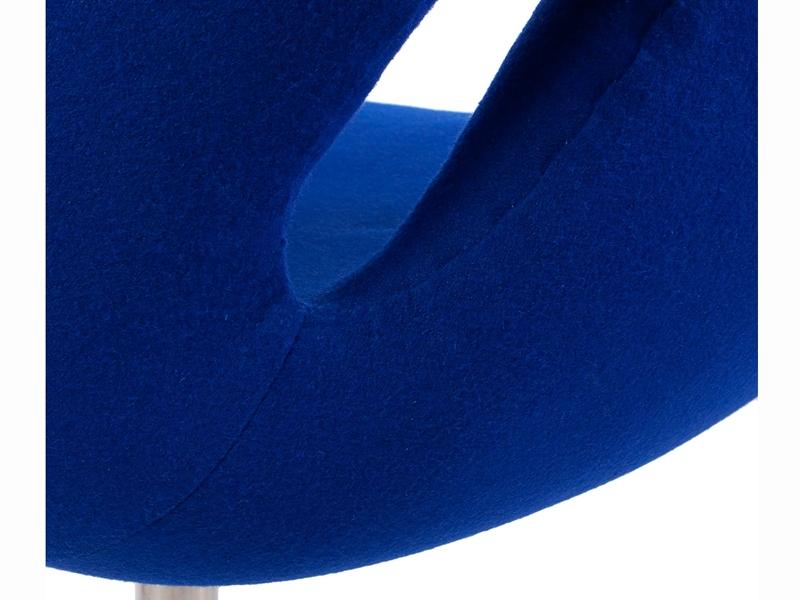 Bild von Stuhl-Design Swan Sessel Arne Jacobsen - Blau
