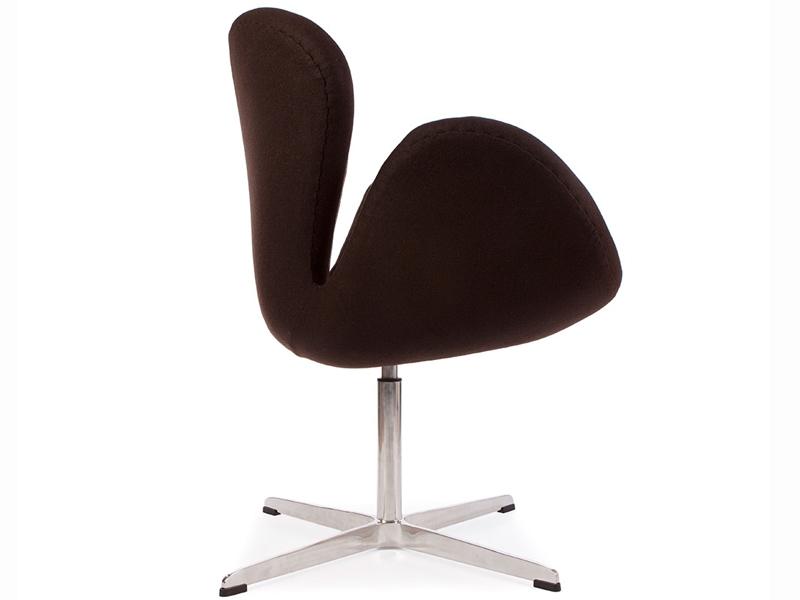 Bild von Stuhl-Design Swan Sessel Arne Jacobsen - Braun