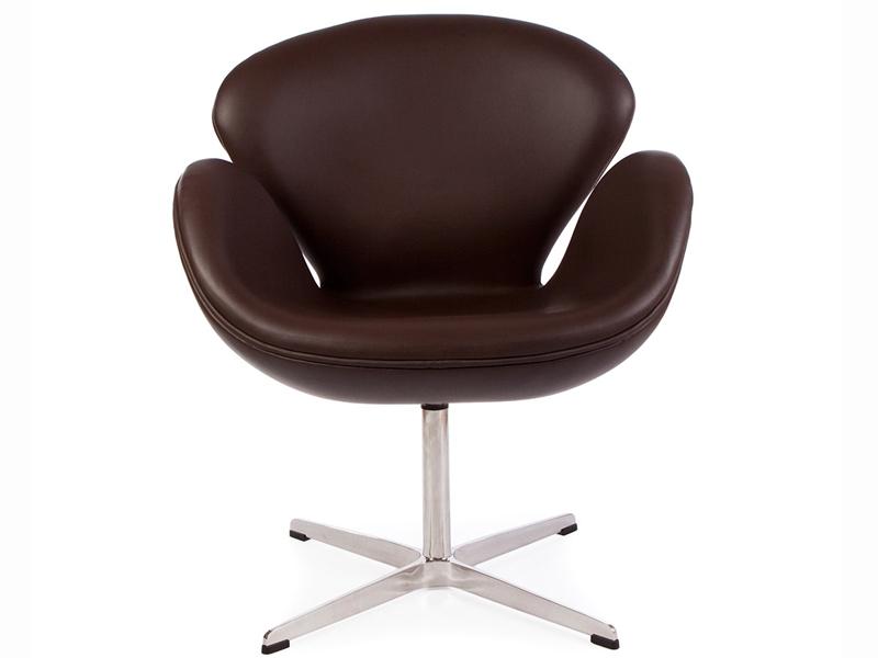 Arne Jacobsen Swan Swan Chair By Arne Jacobsen Leather Platinum