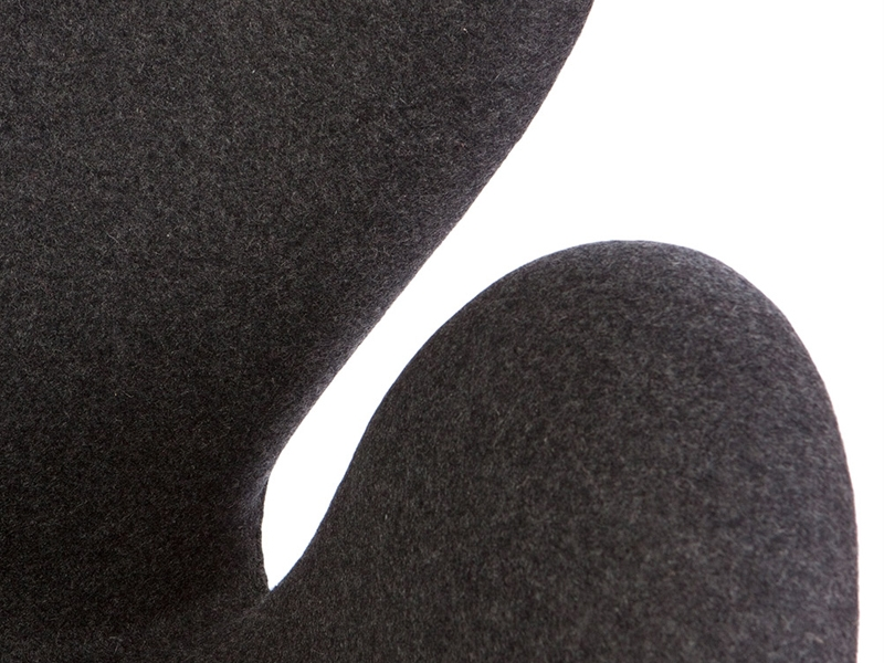 Bild von Stuhl-Design Swan Sessel Arne Jacobsen - Grau
