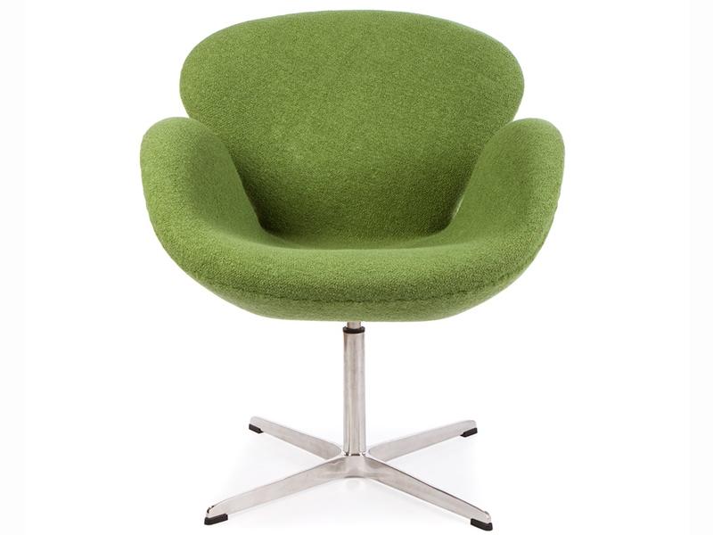 swan sessel arne jacobsen gr n. Black Bedroom Furniture Sets. Home Design Ideas