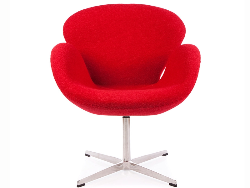 Swan sessel arne jacobsen rot for Sessel jacobsen