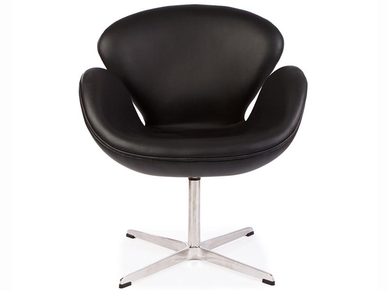 swan sessel arne jacobsen schwartz. Black Bedroom Furniture Sets. Home Design Ideas