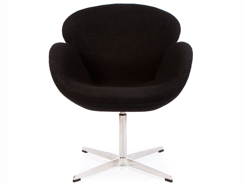 swan sessel arne jacobsen schwarz. Black Bedroom Furniture Sets. Home Design Ideas