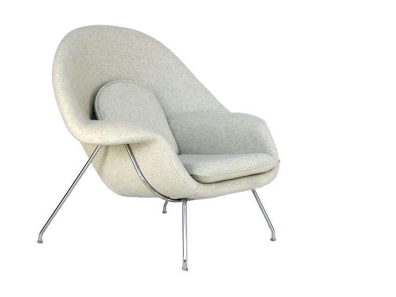 Bild von Stuhl-Design Womb Sessel - Creme-weiß