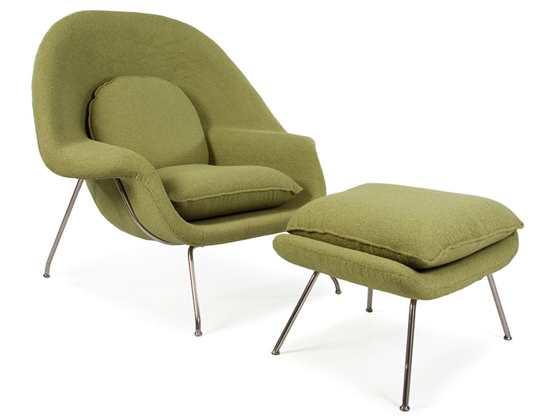 Bild von Stuhl-Design Womb Sessel - Olivgrün