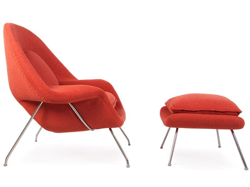 womb sessel orange. Black Bedroom Furniture Sets. Home Design Ideas