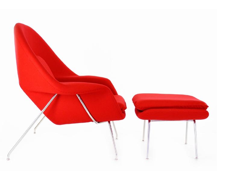 Bild von Stuhl-Design Womb Sessel - Rot