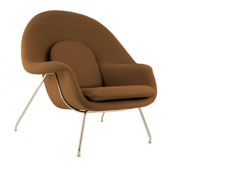 Bild von Stuhl-Design Womb Sessel - Schokoladenbraun