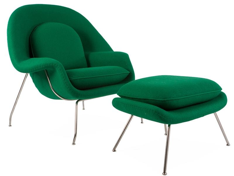 Bild von Stuhl-Design Womb Sessel - Smaragdgrün