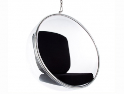 Bild von Stuhl-Design Bubble Sessel Eero Aarnio - Schwarz
