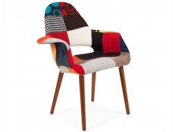 Bild von Stuhl-Design Eames Organic Sessel - Patchwork