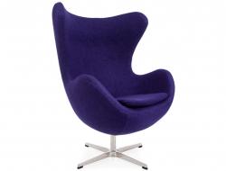 Bild von Stuhl-Design Egg Sessel AJ - Malvenfarbig