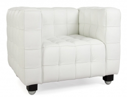 Bild von Stuhl-Design Kubus Sessel - Weiß