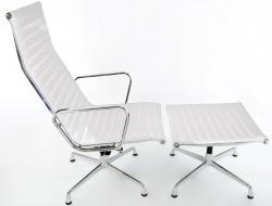 Bild von Stuhl-Design Lounge Stuhl EA124 - Weiß
