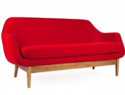 Bild von Stuhl-Design Lusk Sofa 2 Sitzer - Rot