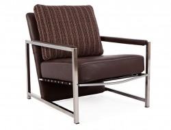 Bild von Stuhl-Design Sessel Grace - Braun