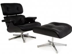 Bild von Stuhl-Design Spezialedition Eames Lounge Chair - Schwarz