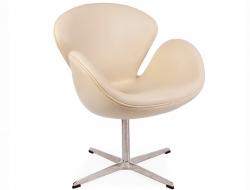 Bild von Stuhl-Design Swan Sessel Arne Jacobsen - Beige