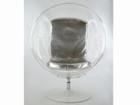 Bild von Stuhl-Design Ball Sessel Eero Aarnio - Silber