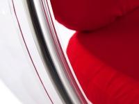 Bild von Stuhl-Design Bubble Sessel Eero Aarnio - Rot