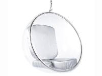 Bild von Stuhl-Design Bubble Sessel Eero Aarnio - Silber