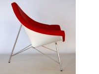 Bild von Stuhl-Design Coconut Stuhl Nelson - Rot