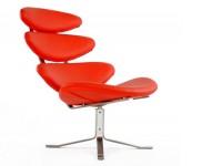 Bild von Stuhl-Design Corona Stuhl PK - Rot