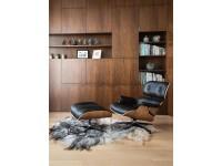 Bild von Stuhl-Design COSY Lounge Chair - Nußbaumholz
