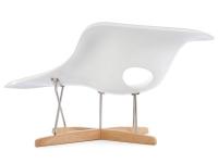 Bild von Stuhl-Design Eames La Chaise - Weiß