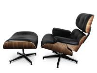 Bild von Stuhl-Design Eames Lounge Sessel - Nußbaumholz