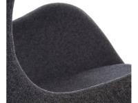 Bild von Stuhl-Design Egg Chair AJ - Dunkelgrau
