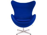 Bild von Stuhl-Design Egg Chair Arne Jacobsen - Blau