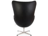 Bild von Stuhl-Design Egg Chair Arne Jacobsen - Schwarz