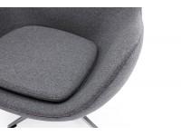 Bild von Stuhl-Design Egg Chair & Ottoman Arne Jacobsen - Grau