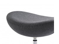 Bild von Stuhl-Design Egg Ottoman (Separat) - Grau
