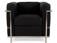 Bild von Stuhl-Design LC2 Sessel Le Corbusier-Schwarz