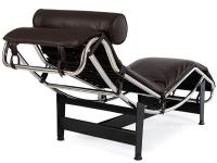 Bild von Stuhl-Design Le Corbusier LC4 Liege (Chaiselongue) - Braun