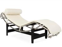 Bild von Stuhl-Design Le Corbusier LC4 Liege (Chaiselongue) - Cremeweiß