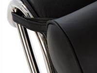 Bild von Stuhl-Design Le Corbusier LC4 Liege (Chaiselongue)  - Schwarz