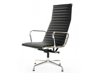 Bild von Stuhl-Design Lounge Stuhl EA124 - Schwarz