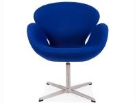 Bild von Stuhl-Design Swan Chair Arne COSYSEN - Blau