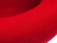 Bild von Stuhl-Design Swan Chair Arne Jacobsen - Rot