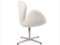 Bild von Stuhl-Design Swan Chair Arne Jacobsen - Weiß