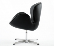 Bild von Stuhl-Design Swan Sessel Arne Jacobsen - Schwarz