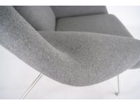 Bild von Stuhl-Design Womb Sessel - Grau