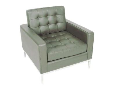 Bild von Stuhl-Design Knoll Lounge Sessel - Grau