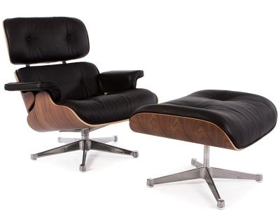 Bild von Stuhl-Design Premium Eames Lounge Chair - Nußbaum