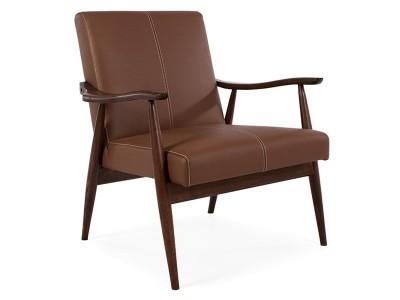 Bild von Stuhl-Design Sessel Celine - Braun